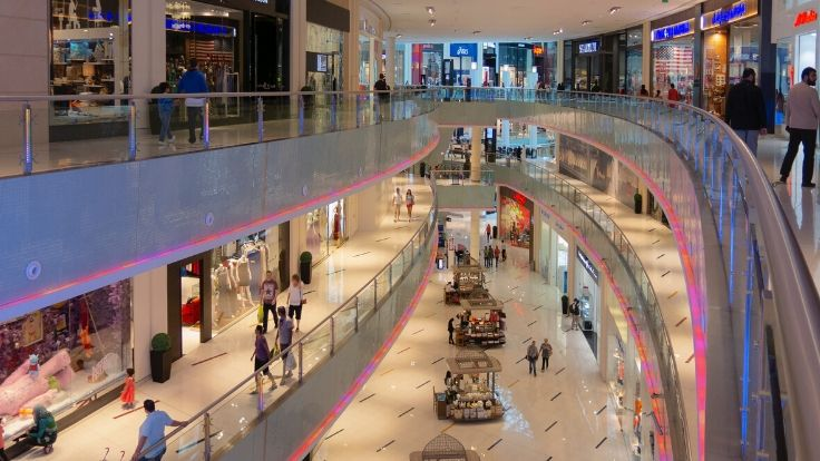 how much does mall space cost